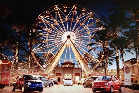 Fiat at Irvine Spectrum